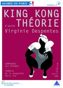 27 King Kong Théorie recto copie
